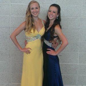 Yellow Faviana Prom Dress